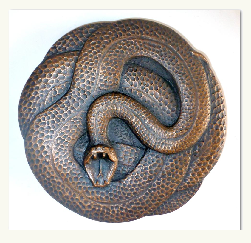 Coiled Serpent PNG